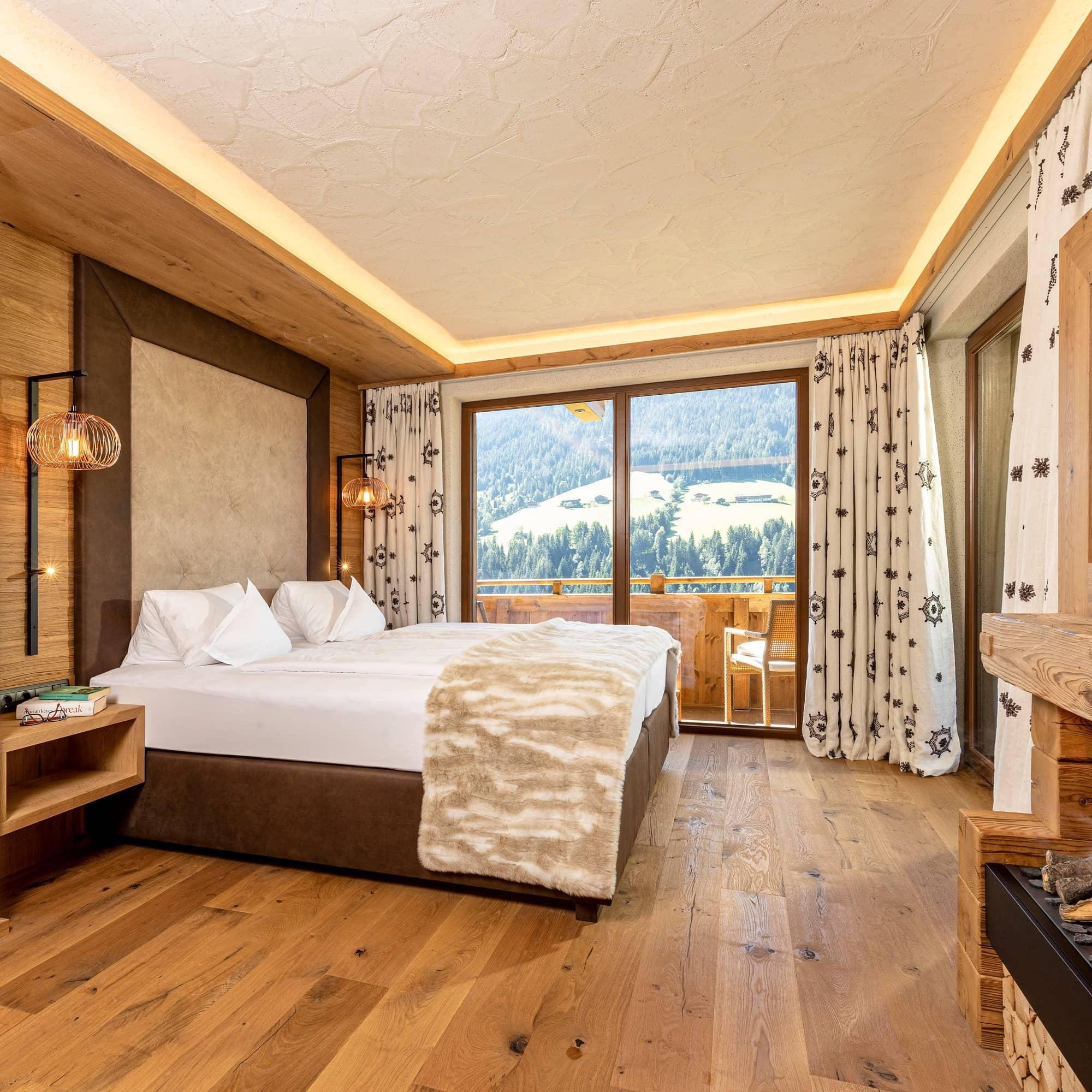 Alpbacherhof Family Suite Traumblick