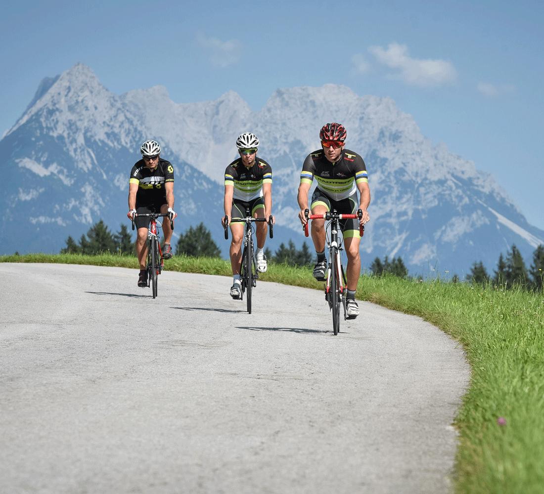 Fahrradfahren im Sommerurlaub in Tirol