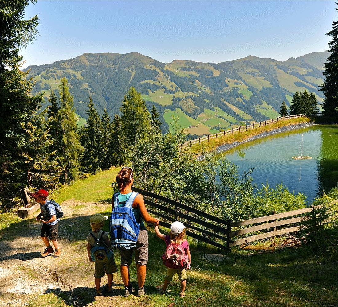Sommerurlaub in Tirol mit der Alpbachtal Card
