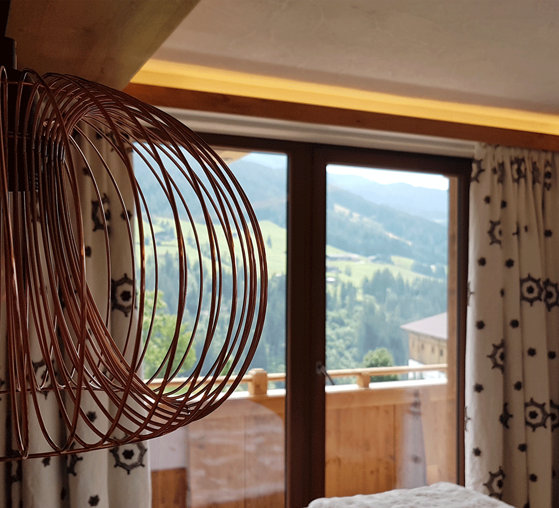 Familiensuite Traumblick im Familienhotel Alpbachtal Tirol Alpbacherhof