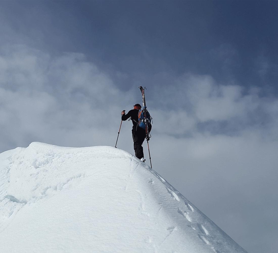 Skitouren gehen im Winterurlaub im Spahotel Alpbachtal