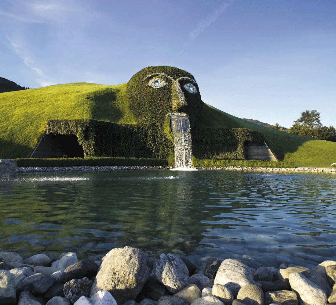 Swarovski Welt als Ausflugsziel beim Wellness Tirol