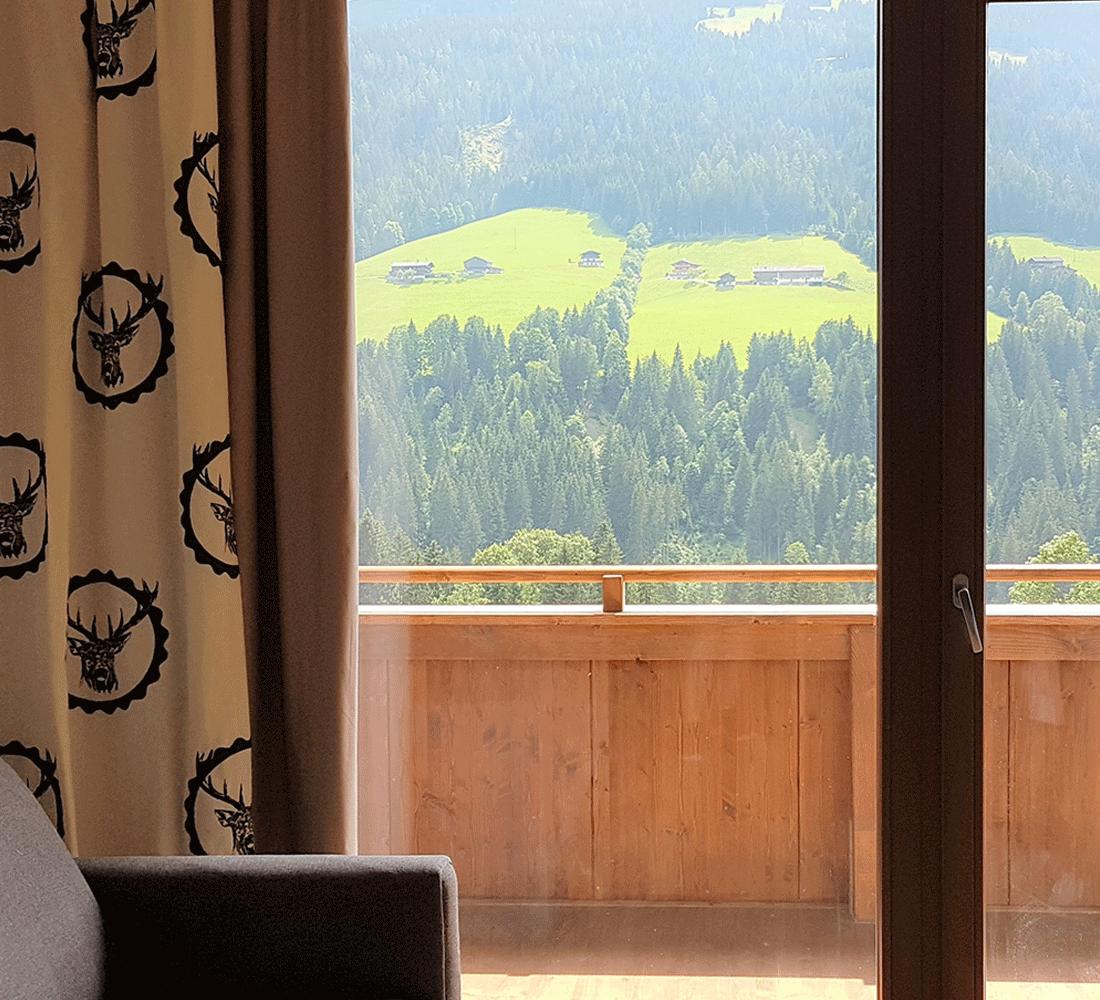 Wohnkomfortzimmer Bergzauber im Wellnesshotel Alpbachtal Tirol
