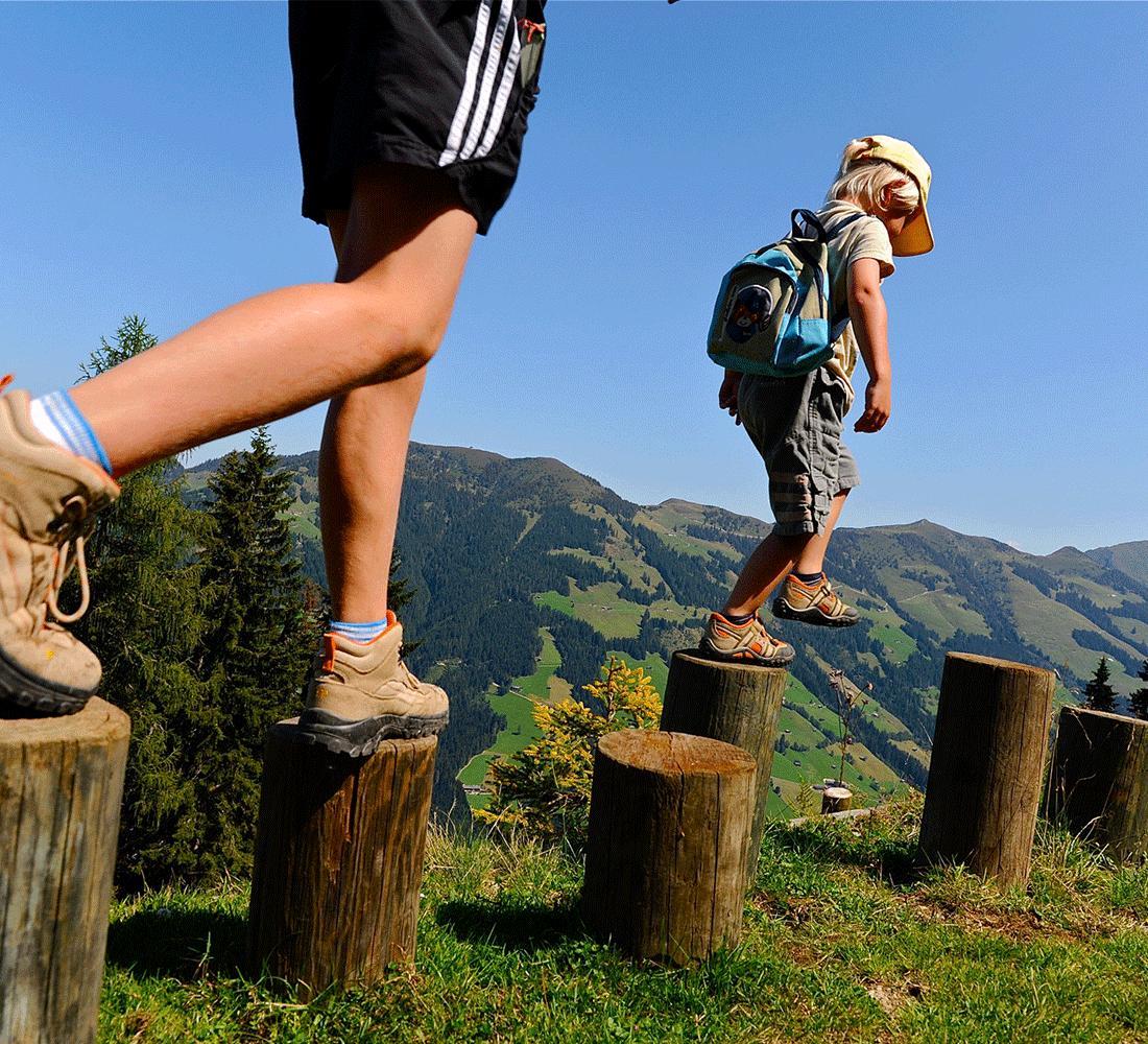 Wanderlust beim Sommerurlaub in Tirol im Wellnesshotel Alpbachtal
