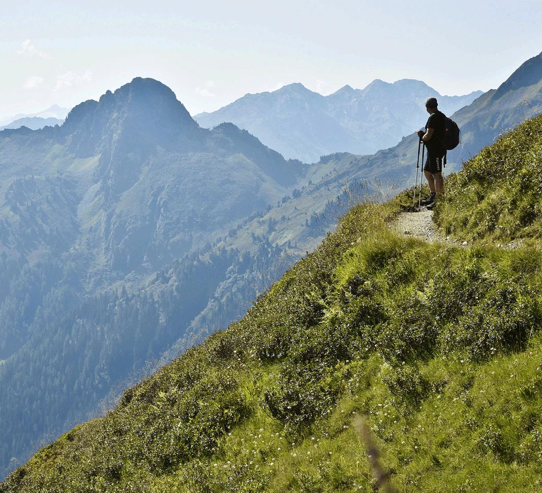 Wandern im Alpbachtal Sommer Aktivurlaub Tirol