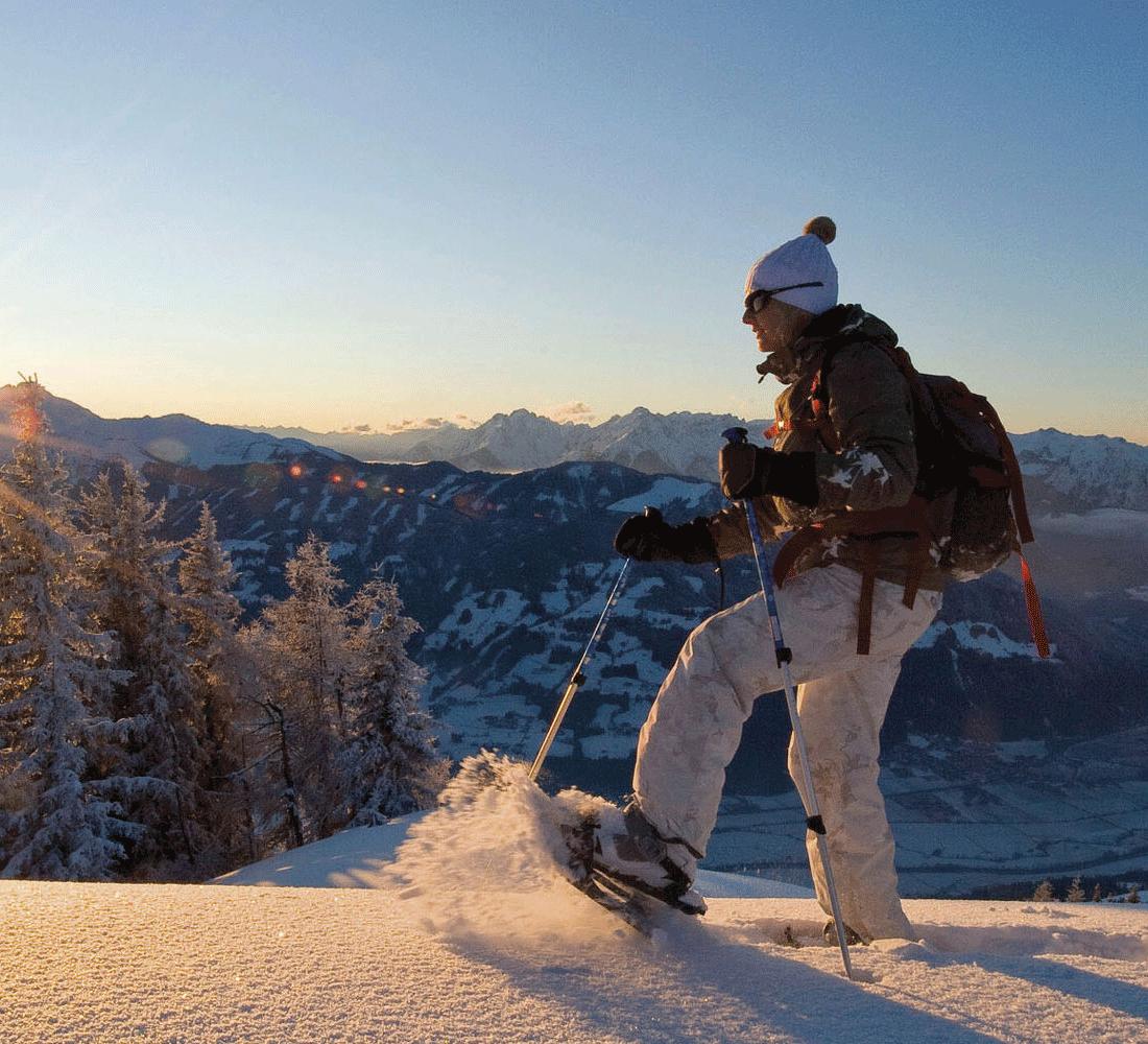 Vielfältige Wintersportarten beim Winter im Alpbachtal im Wellnesshotel Alpbacherhof
