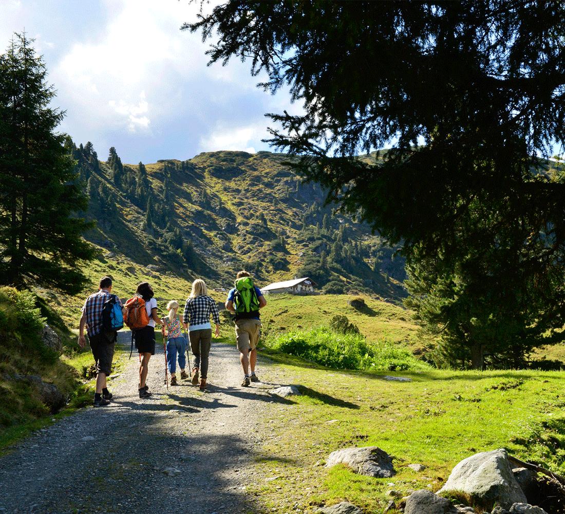Sommerpauschalen im Alpbacherhof für Ihren Familienurlaub Alpbachtal Tirol