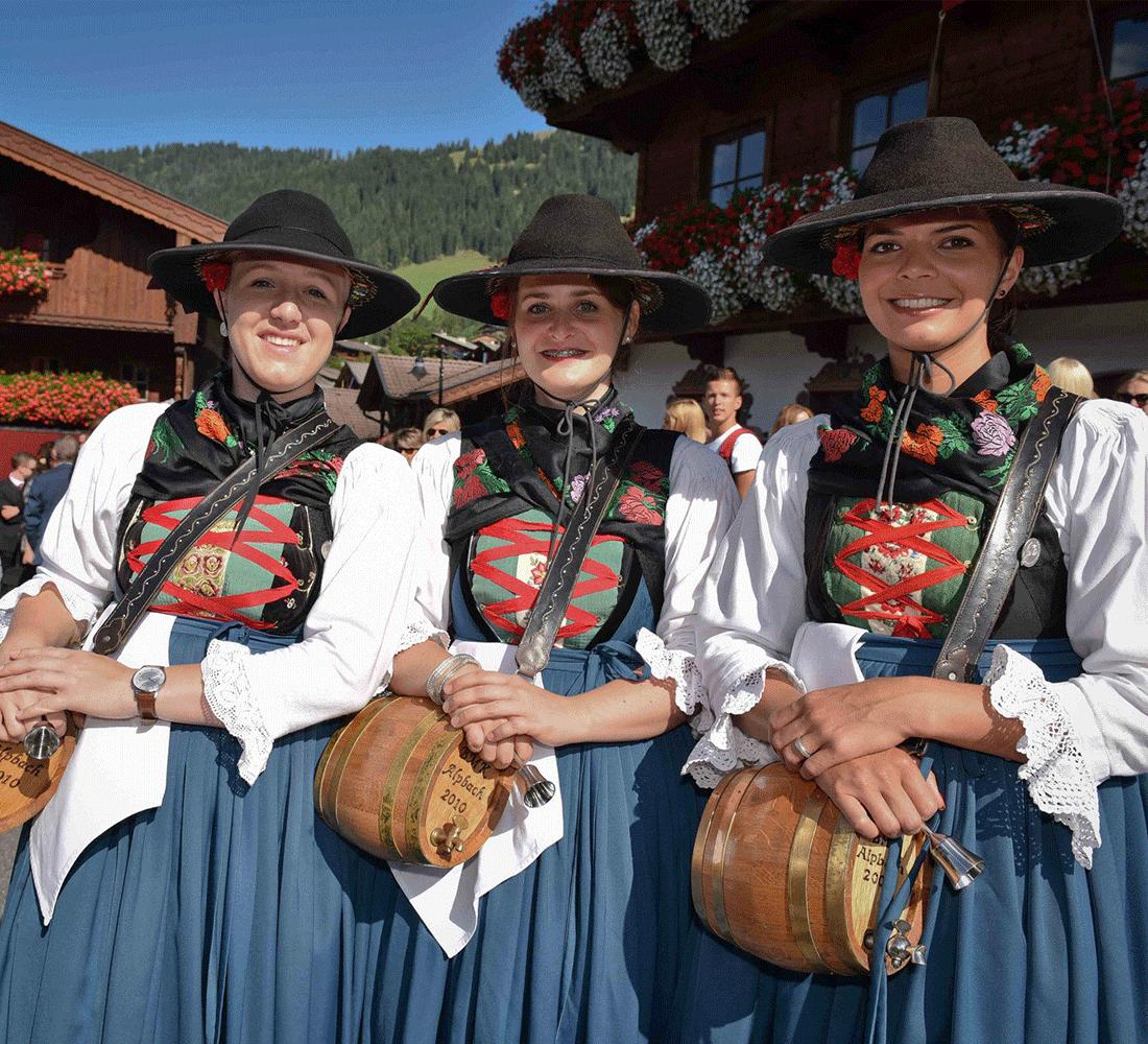 Brauchtum im Alpbach im Alpbachtal