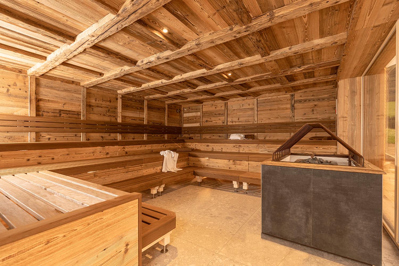 Sauna Tiroler Schwitzstube Saunawelt Wellnesshotel Tirol Der Alpbacherhof