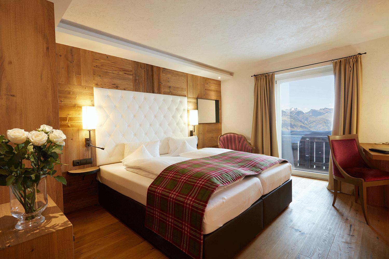 Wohnkomfortzimmer Alpin im Wellnesshotel Alpbachtal in Tirol