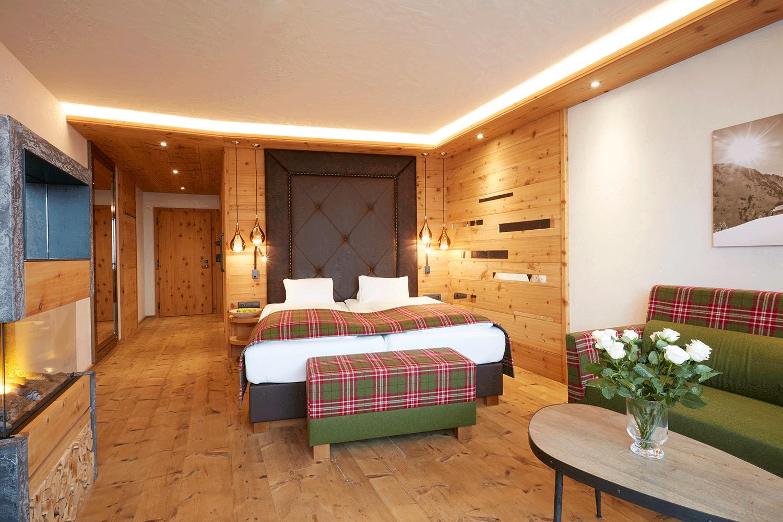 Wohnkomfortzimmer Traumblick 1 im Wellnesshotel Alpbacherhof in Tirol
