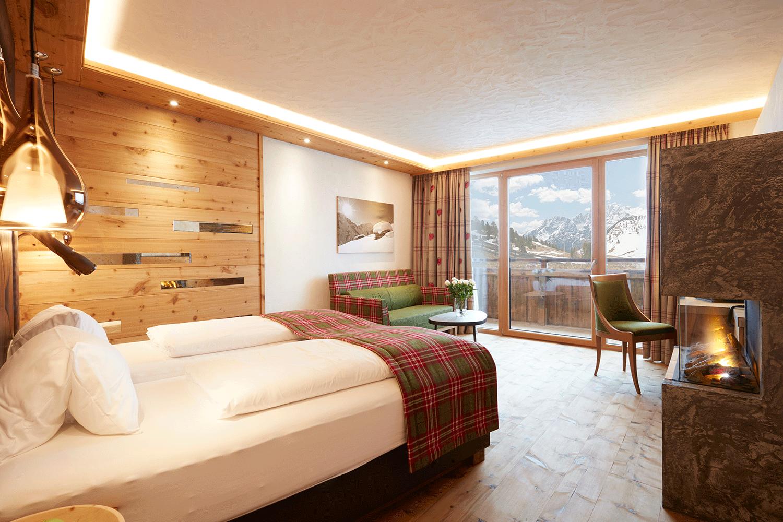 Wohnkomfortzimmer Traumblick im Wellnesshotel Tirol