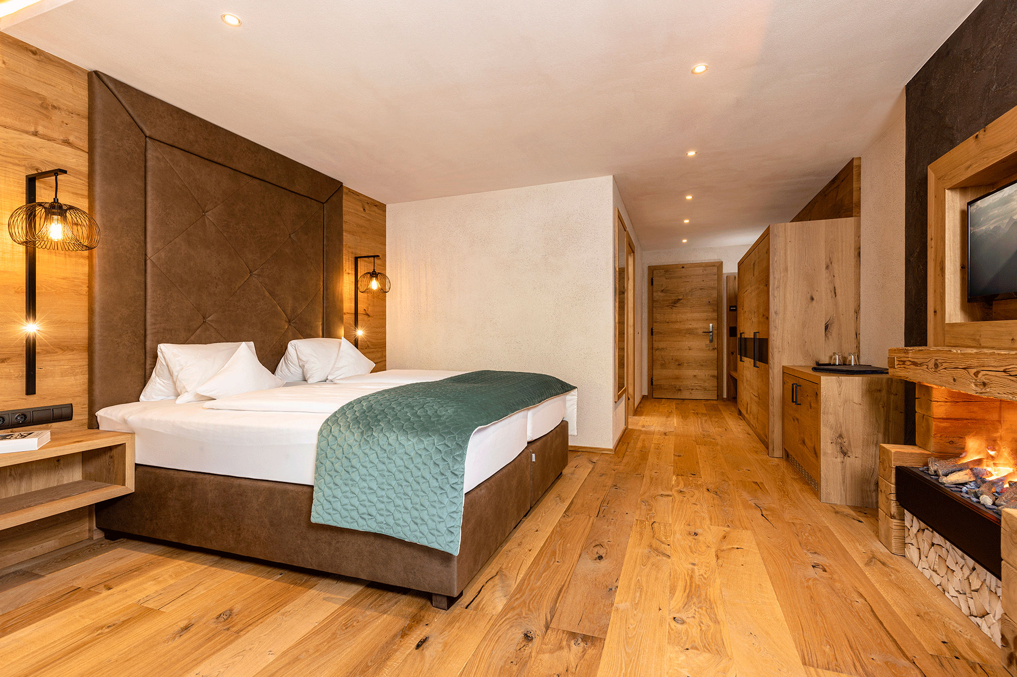 Wohnkomfortzimmer Romantik im Wellnesshotel Alpbacherhof nahe des Skigebiets Ski Juwel