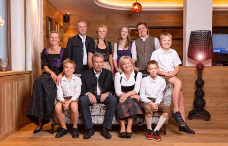 Familie Margreiter im Wellnesshotel Alpbachtal