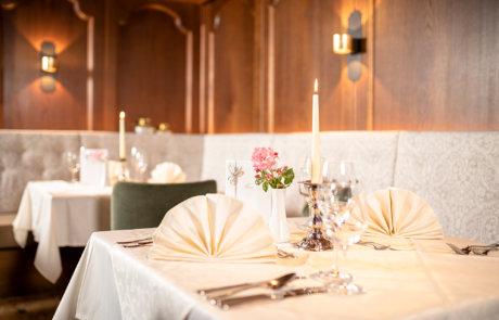 Restaurant im Wellnesshotel Alpbachtal im Hotel Tirol