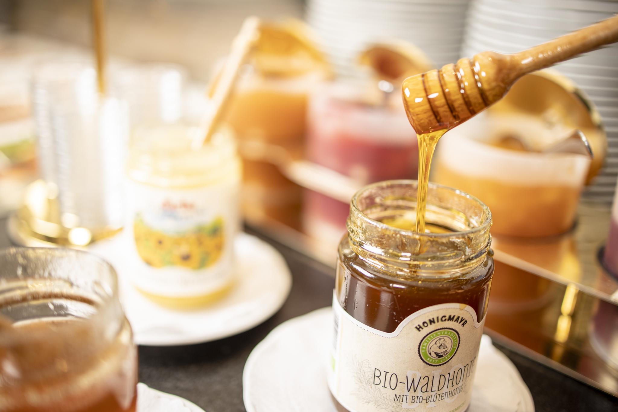 Regionale Produkte Honig im Genusshotel Alpbachtal Tirol