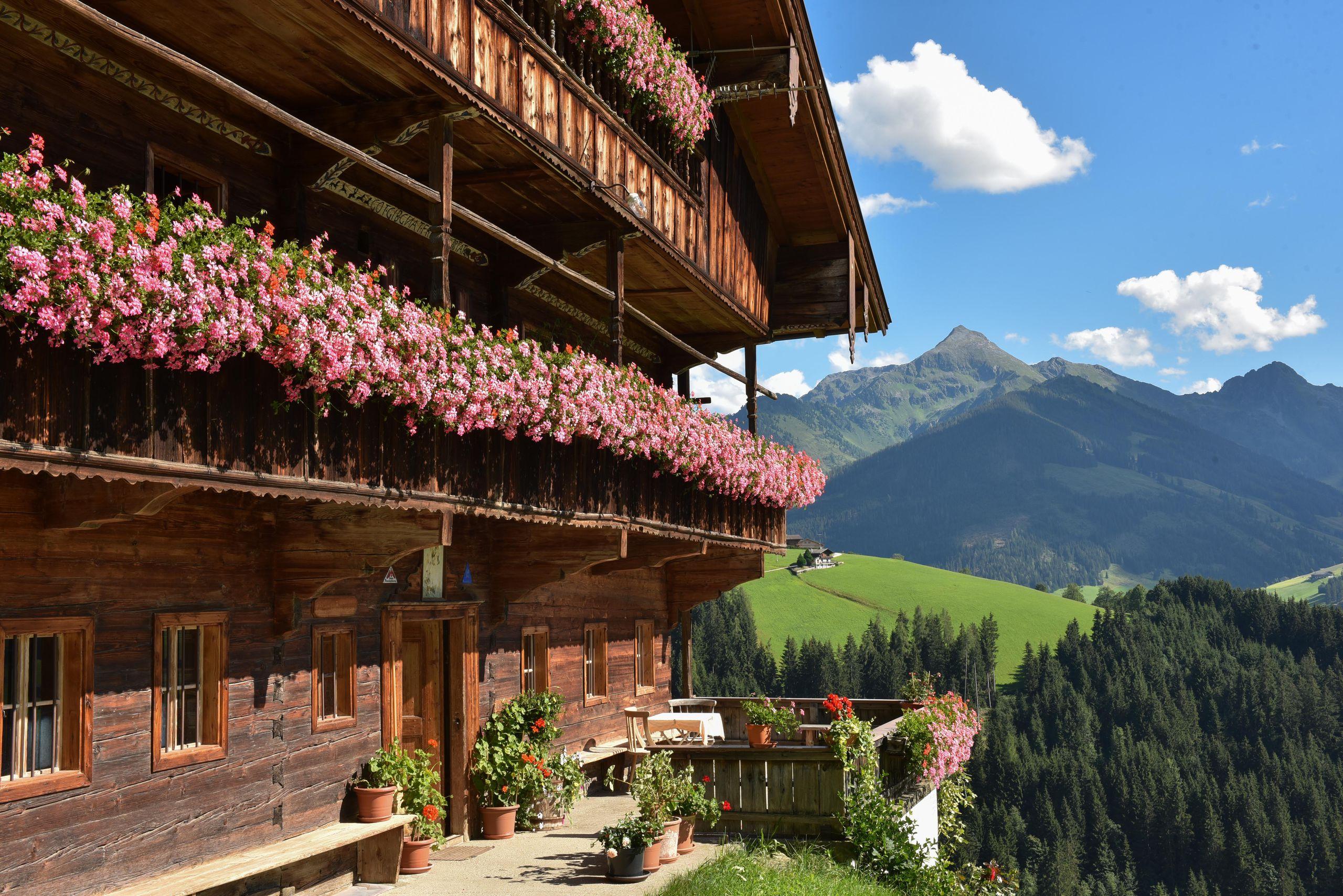 Traditioneller Erbhof in Alpbach Schönstes Dorf Österreichs