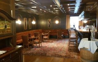 Bar im Hotel in Tirol alte Ansicht