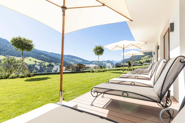 Relaxliegen im Hotel in Tirol