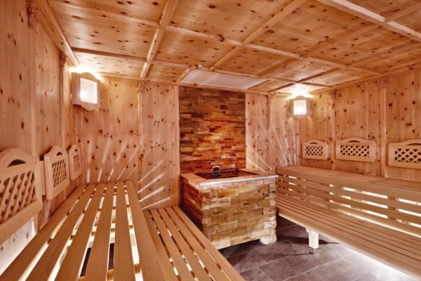 Zirben Sauna im Wellnesshotel Tirol