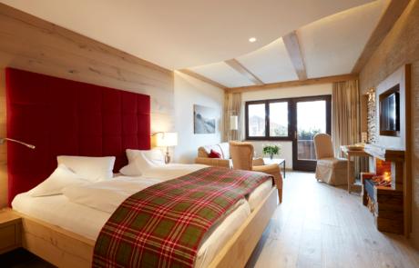 Romantikzimmer im Hotel in Tirol Alpbacherhof