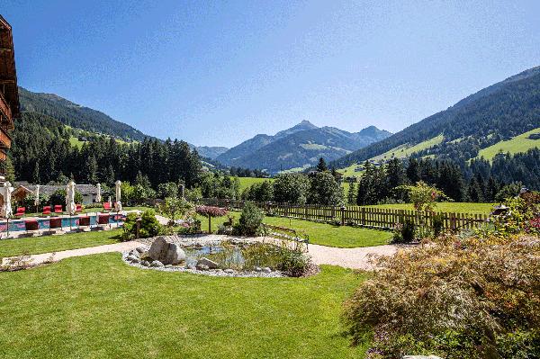 Ausblicke im Wellnesshotel Tirol