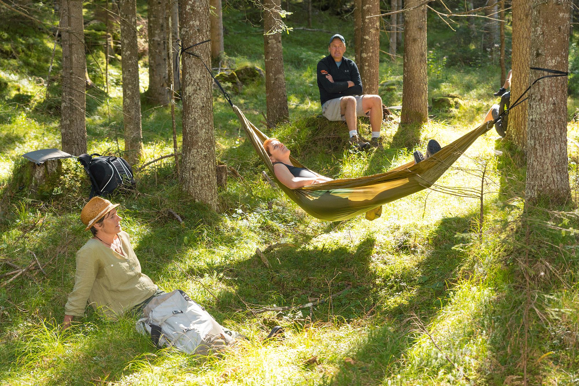Waldbaden im Urlaub in Tirol