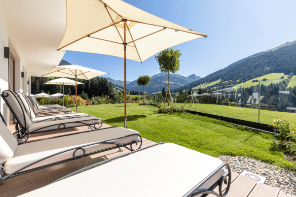 Ausblick im Wellnesshotel Tirol