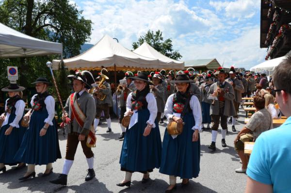 Alpbach Dorffest 2016 Sommerurlaub Alpbach