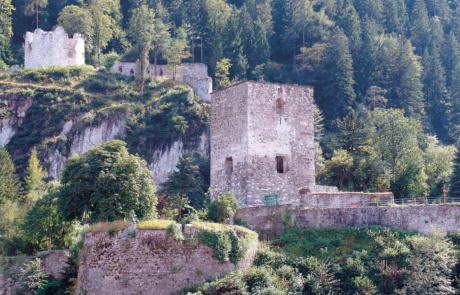Burg Rattenberg Urlaub Frühling Alpbachtal