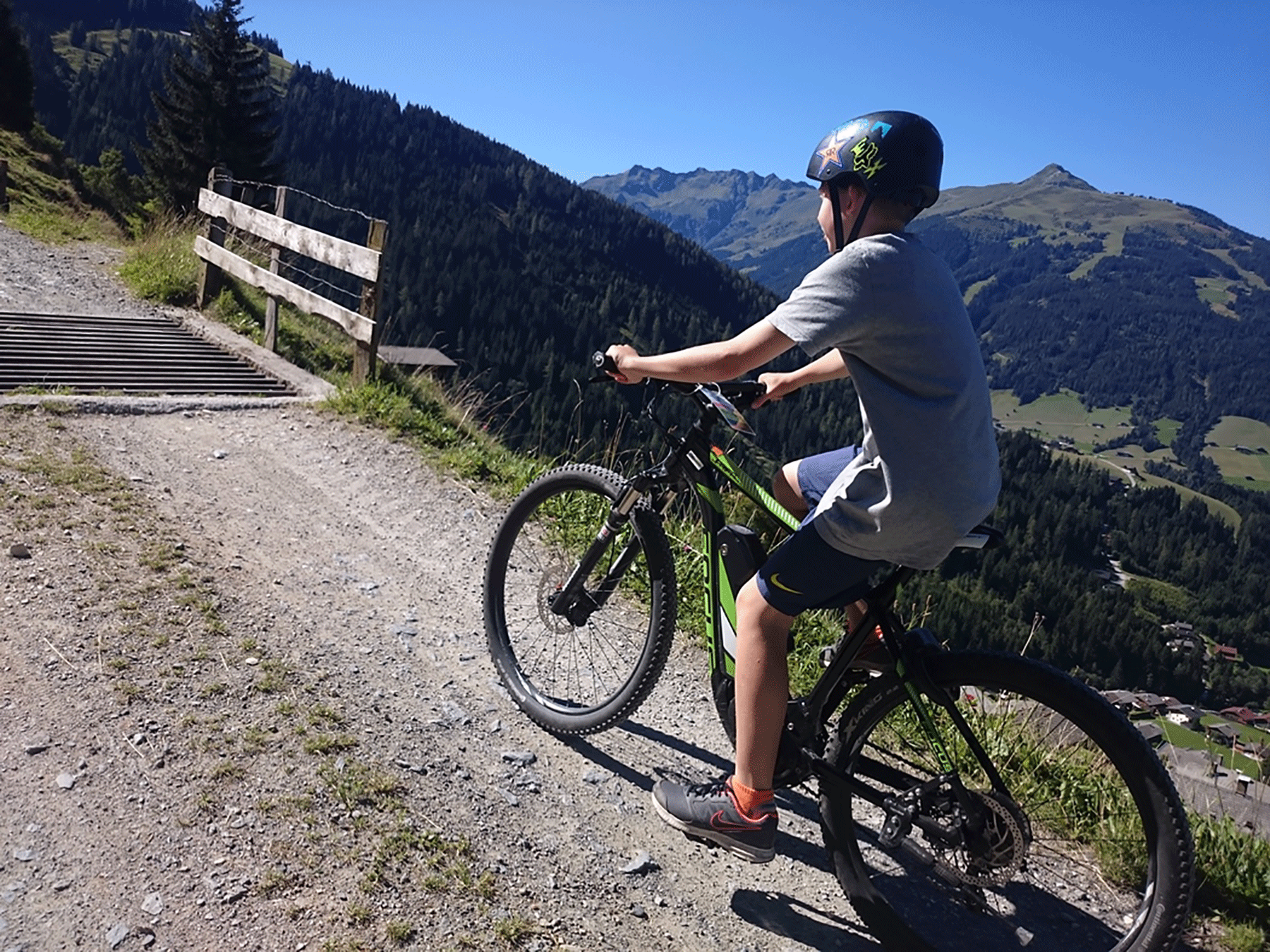 E-Biken im Alpbachtal beim Biken Alpbachtal