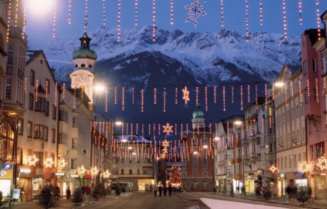 Innsbruck im Winter Kurzurlaub Tirol