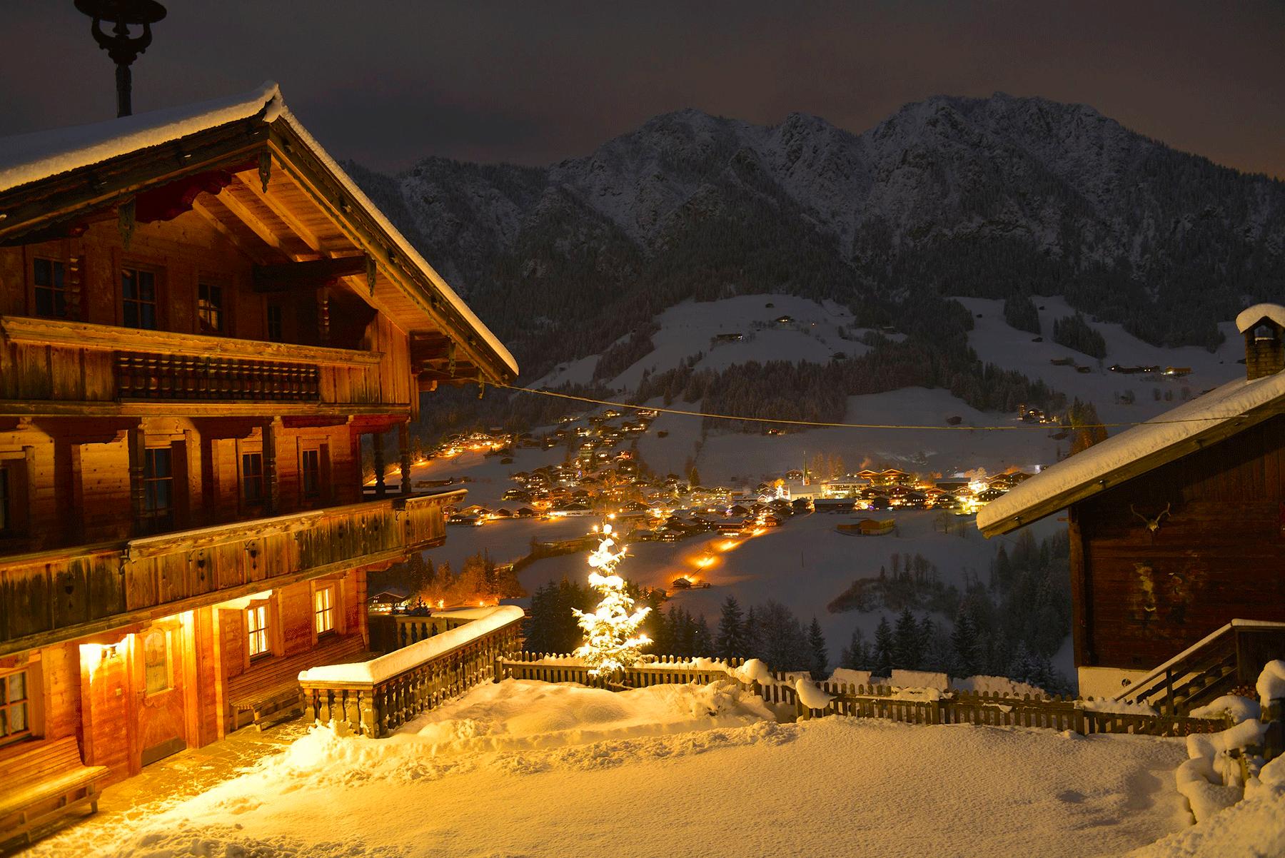 Neader im Winter beim Kurzurlaub im Hotel Alpbachtal
