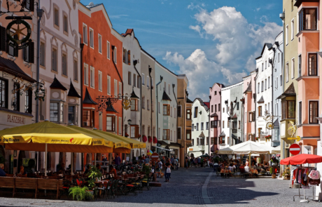 Rattenberg im Sommer beim Kurzurlaub Tirol