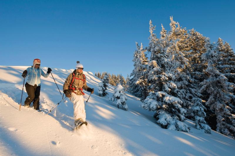 Schneeschuhwandern im Alpbachtal beim Aktivurlaub Alpbachtal