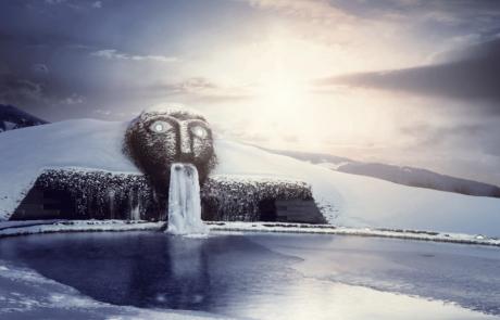 Swarovski Kristallwelten im Winter Ausflug Hotel Alpbachtal