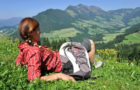 Wanderin Reihter Kogel beim Alpbachtal Wandern