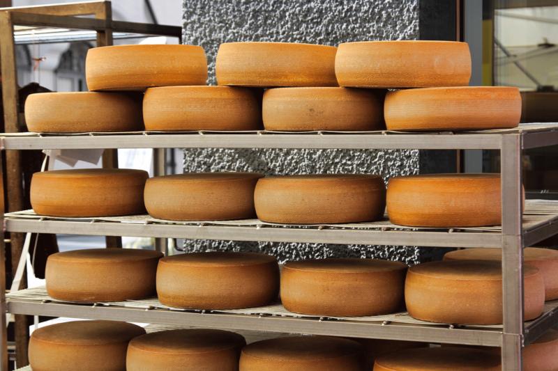 Sennerei Käse im 4 Sterne Hotel Tirol