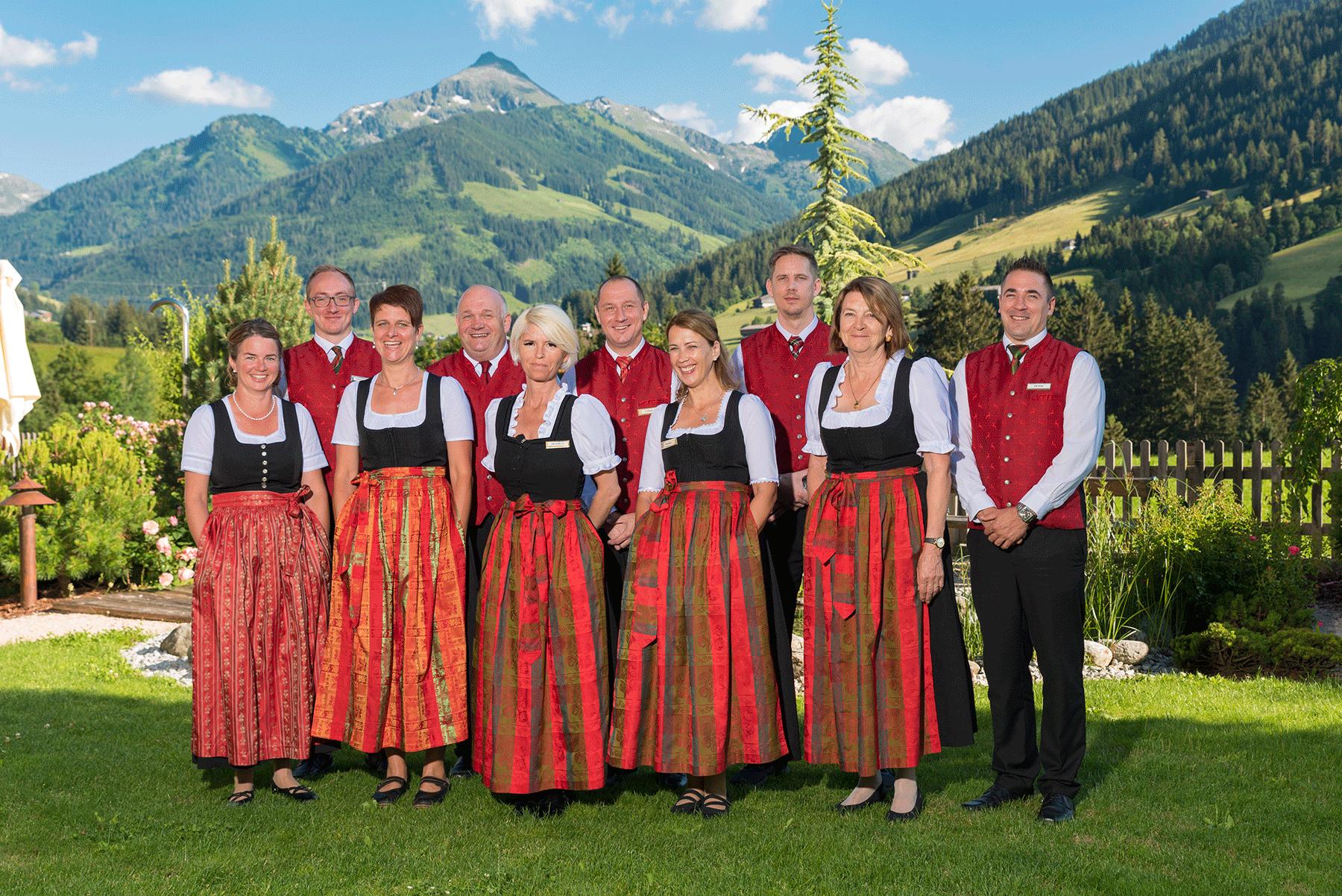 Team Service Hotel Alpbachtal