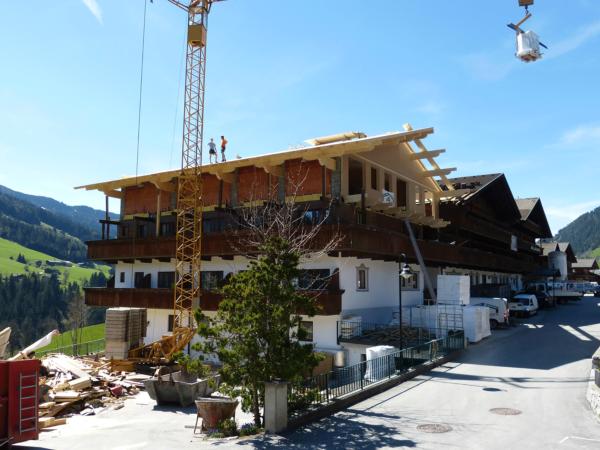 Zubau im 4 Sterne Hotel Tirol