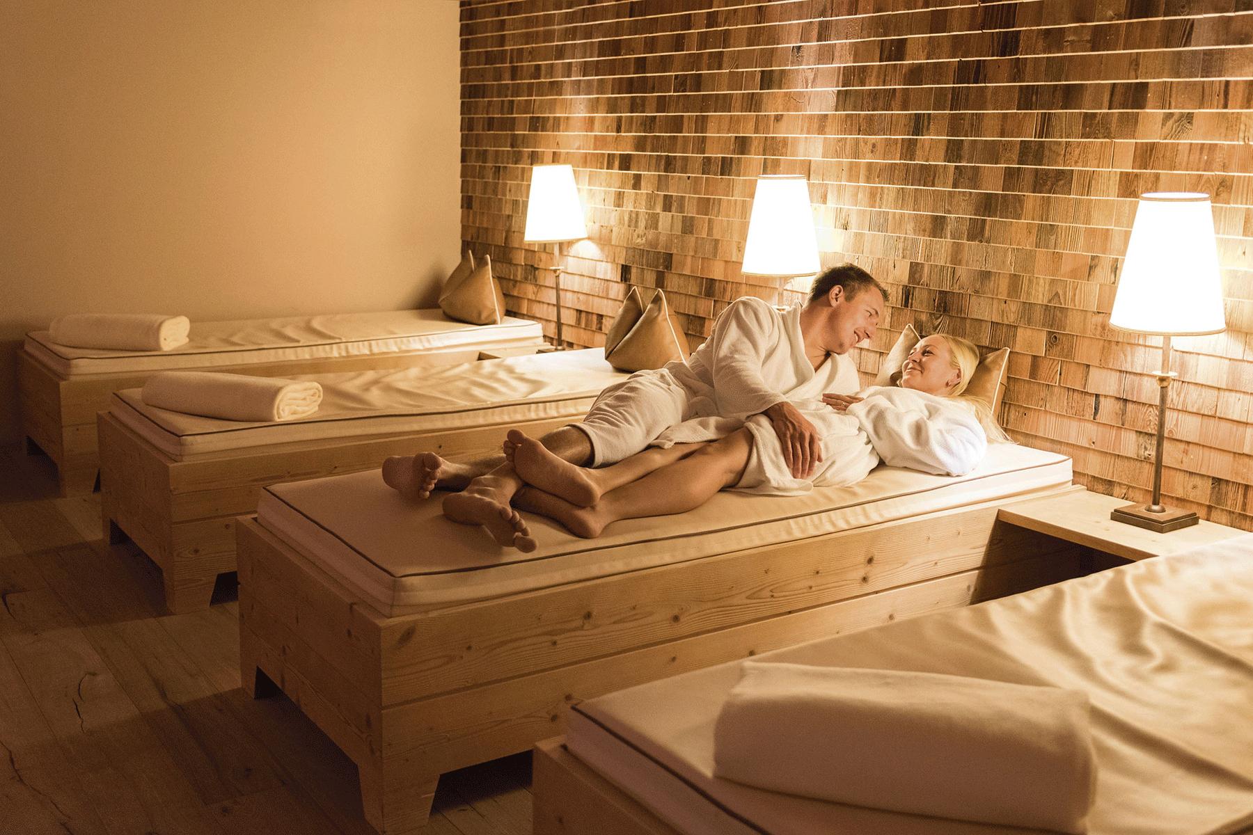 Raum der Sinne Paar pur im Spa Hotel Kitzbüheler Alpen